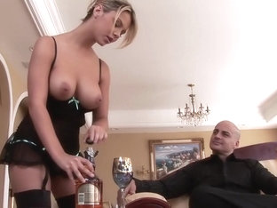 Horny pornstar Ashlynn Brooke in incredible big tits, facial porn movie