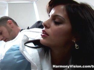 Exotic pornstars Black Angelika, Donna Bell in Amazing Anal, Pornstars adult video