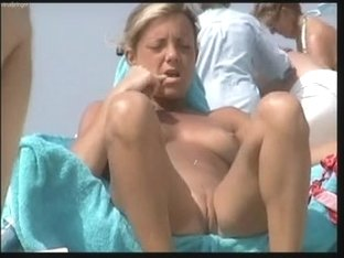 hidden cam at the beach