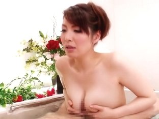 Amazing Japanese chick Yuna Aino in Crazy JAV censored Bathroom, MILFs clip