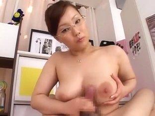 Incredible Japanese chick Rika Aiuchi in Amazing Big Tits, Hardcore JAV movie