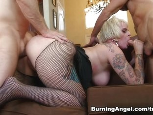 Crazy pornstars Will Powers, John Strong in Incredible Threesomes, Big Tits porn video