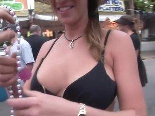Crazy pornstar in horny voyeur, big tits porn scene