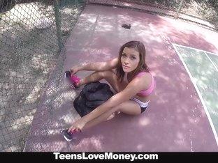 TeensLoveMoney - Tennis Slut Fucks For Cash