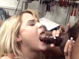 Incredible pornstar Barra Brass in hottest deep throat, interracial porn clip