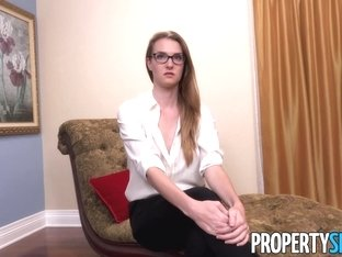 PropertySex Horny Agent Ashley Lane Nails Lucky Millionaire