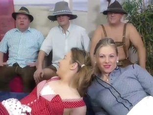 lederhosen groupsex gangbang orgy