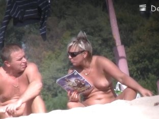 Nudist beach is the best place to film naked women