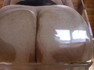 Mazzaratie Monica & Chanel Preston & Felicia Clover in Clear Chair Butts Video