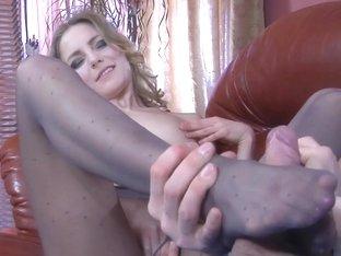 NylonFeetLine Video: Judith and Gerhard