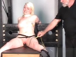 Extreme bondage with sexy mom and young daughter