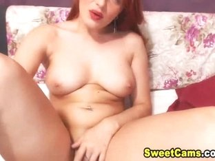 Busty MILF Get Naked and Masturbate