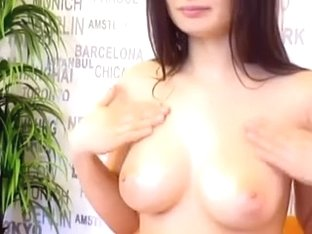 Busty Ukranian on webcam