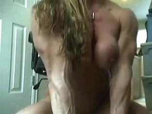 my friend muscle on livecam....