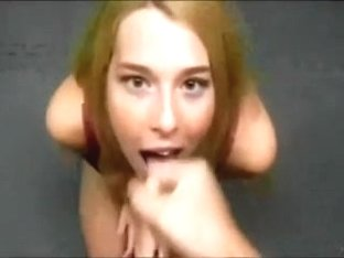 Sucking like crazy my lover's cock