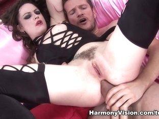 Fabulous pornstar Leona Queen in Crazy Stockings, Cumshots xxx movie