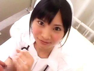 Horny Japanese slut Eri Nanahara in Fabulous Nurse/Naasu JAV video