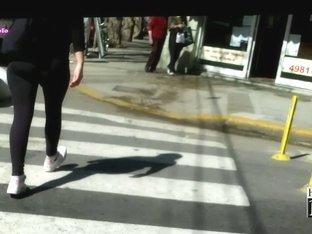 Public amateur slut candid ass video