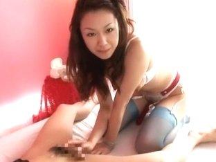 Hottest Japanese chick Sakura Hirota in Incredible Fingering, Cunnilingus JAV movie