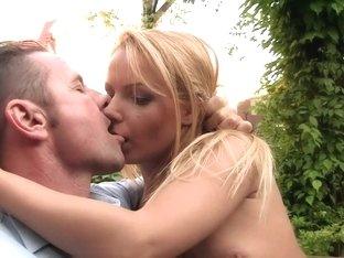 Horny pornstar Cristien Love in amazing piercing, outdoor porn scene