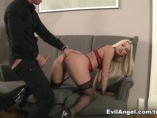 Hottest pornstars Blanche Bradburry, David Perry in Best Anal, Hardcore xxx scene