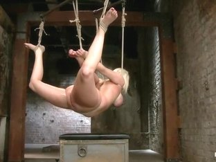 Blonde with Big Natural Breasts - RODE HARD!