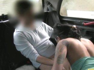 FakeTaxi: Lustful stunner enjoys anal sex