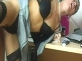 Lustful Hawt Cheating Wife fucking her Paramour at the Office