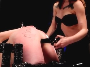 Macy Cartel has CBT Fun with her New Sex Slave