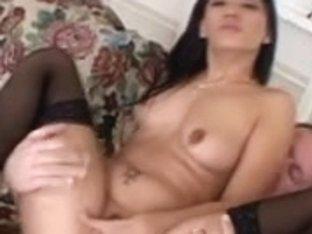 Smokin' sexy Latin hottie team-fucked hard
