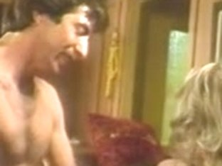 Kim Carson and blond receive double dicked for 80s foursome scene