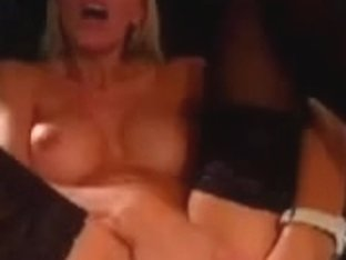 I'm fucking a big sex toy in private milf video