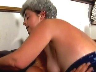 Mrs Stevens in Granny Hardcore Movie