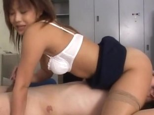 Yuka Matsushita Naughty Asian sexretary has office sex