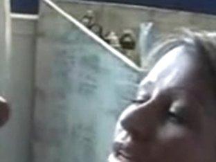 Frisky wife private facial video
