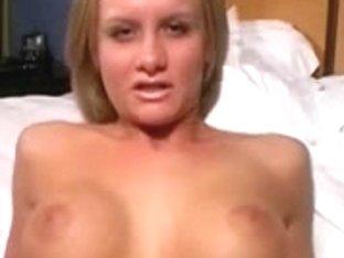 My busty webcam GF fondling herself