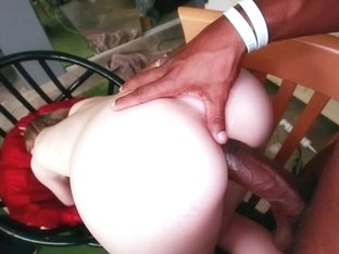 Sucking slut black cock