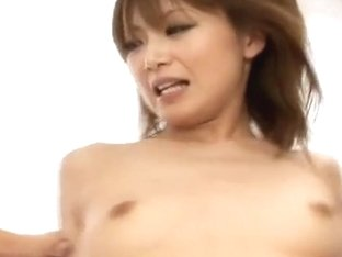 Rika Sakurai Pretty Asian model enjoys hot sex in lingerie