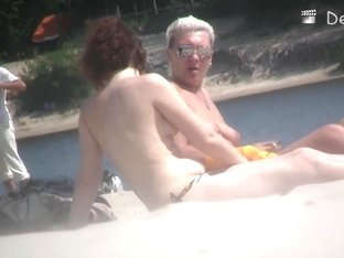 Naked chicks at the beach on beach voyeur spy cam compilation