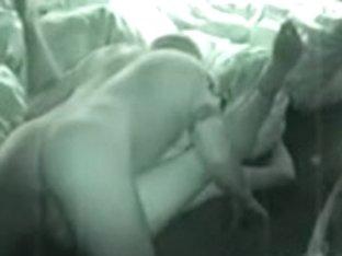 Hidden livecam sex youthful dilettante pair caught fucking