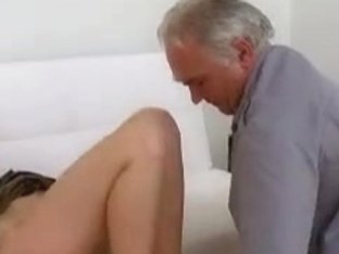 Old guy needs to play with a cute young pussy