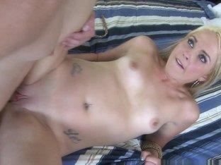 Romeo Price, Ashley Stone in Tight grip Scene