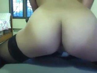 marvelous breasty sweetheart films herself cumming
