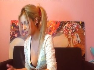 Horny Homemade record with Blonde, Webcam scenes