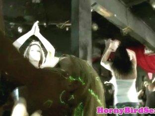 homemaker blowjob stripper at party