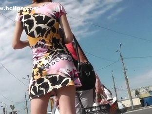 Fabulous Amateur clip with Upskirt, Outdoor scenes
