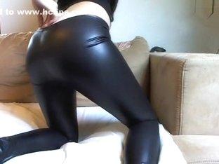 Latex-Legging