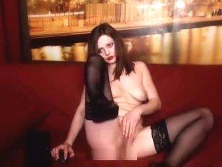 VickyVictoria Imlive Red corset