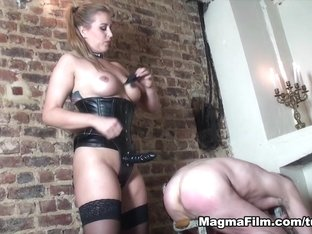 Crazy pornstars in Amazing Big Tits, Femdom adult clip