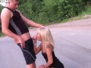 Daisy in the extreme pickup sex on the road